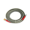 pressure washer hose steel braided rubber