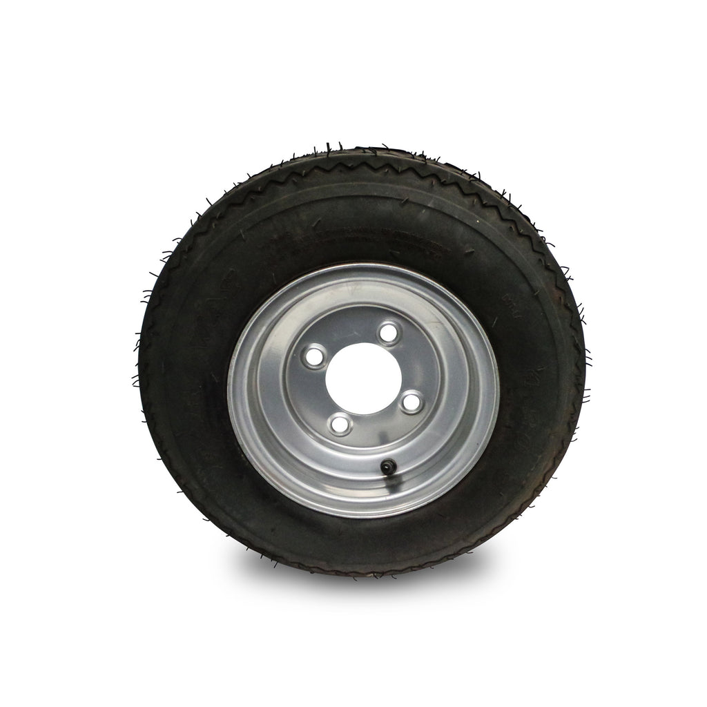 spare wheel for tow behind mower