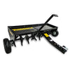 tow behind ride on mower lawn aerator