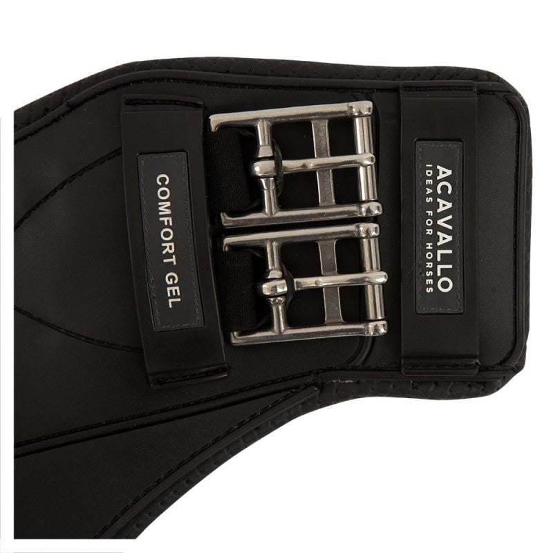 Acavallo Short Stud Guard Girth Comfort Gel