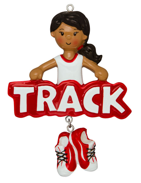 AA1242-G - Track Girl (African-American)