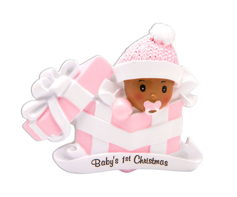 AA1331-P - Baby Girl in Present