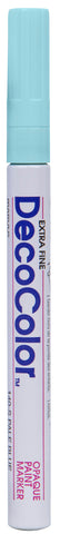 DECO140PB - Deco Extra Fine Point Pale Blue Marker
