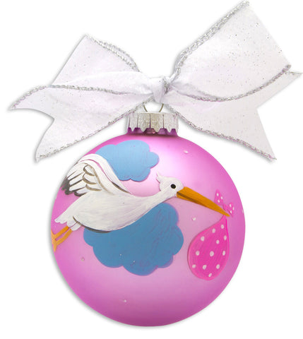 GB003-GD - 1st Granddaughter Glass Ball Christmas Ornament