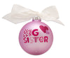 GB011 - Big Sister Glass Ball Christmas Ornament