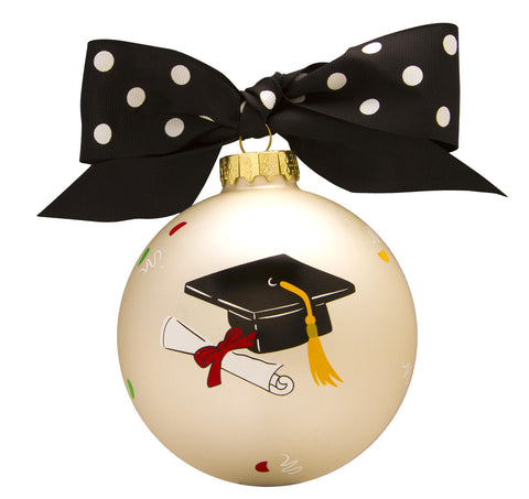 GB012 - Congrats Grad! Glass Ball Christmas Ornament