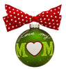 GB021 - World's Best Mom Glass Ball Christmas Ornament
