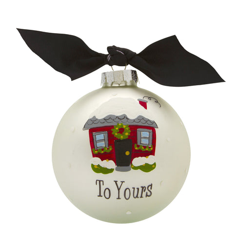 GB039 - Neighbors Glass Ball Christmas Ornament