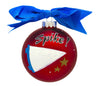 GB064 - Volleyball Glass Ball Christmas Ornament