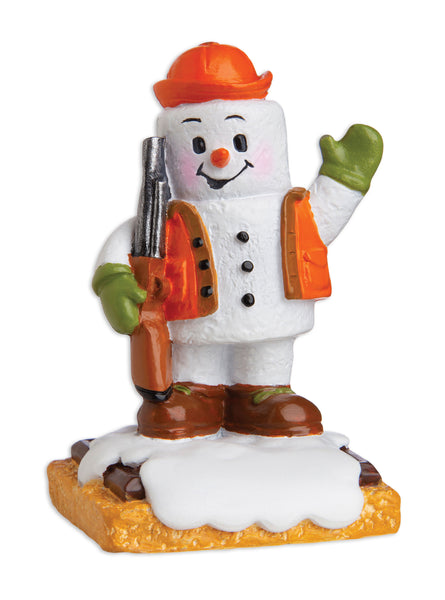 MM20015 - Marshmallow Hunter Personalized Christmas Ornament