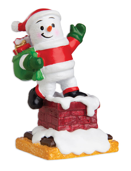 MM20017 - Marshmallow Santa Personalized Christmas Ornament