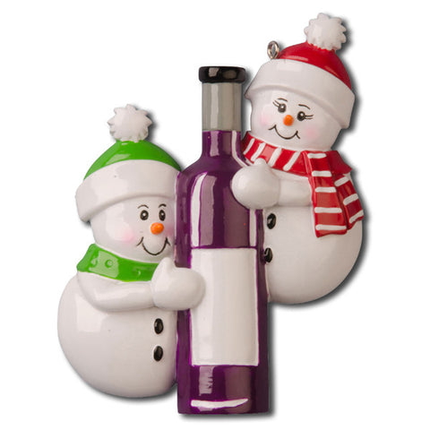 OR1023 - Wine Bottle Couple