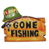 OR1025 - Gone Fishing Personalized Christmas Ornament