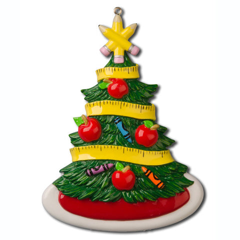 OR1035 - Teacher Christmas Tree