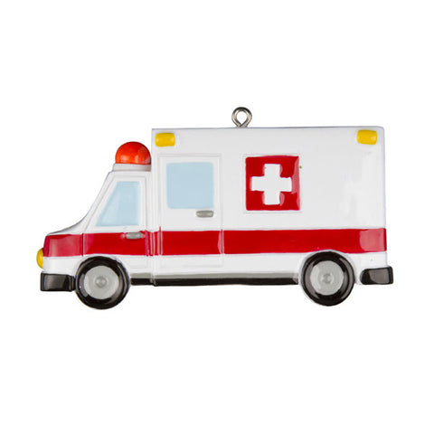 OR1046 - Ambulance EMT Personalized Christmas Ornaments
