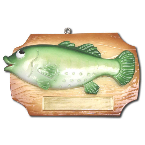 OR1066 - Fish Bass on Plaque