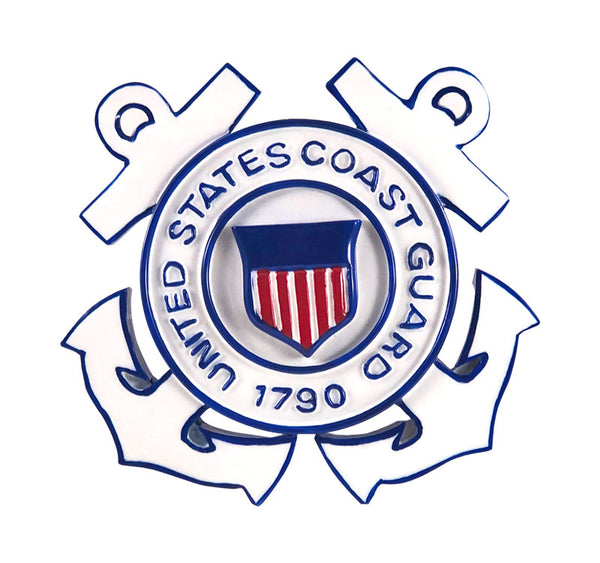 OR1144 - Coast Guard Personalized Christmas Ornaments