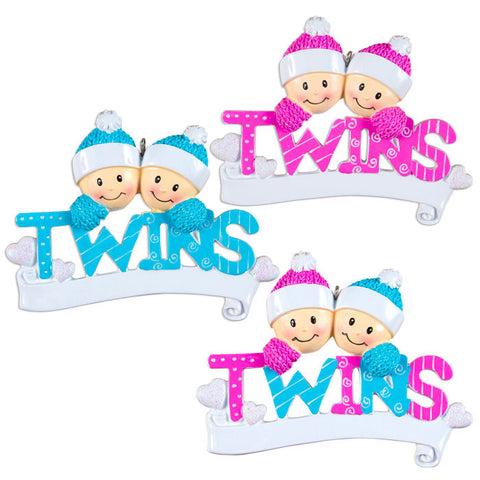 OR1166-A - Twins - Boys, Girls, Girl & Boy (four of each)