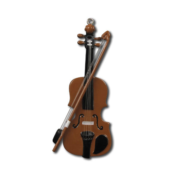 OR1170 - Violin Personalized Christmas Ornaments