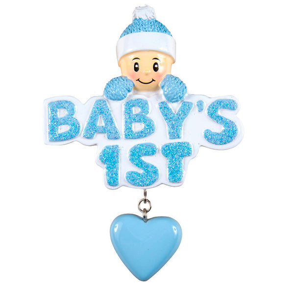 OR1175-B - Baby's 1st w/Boy In Blue Cap