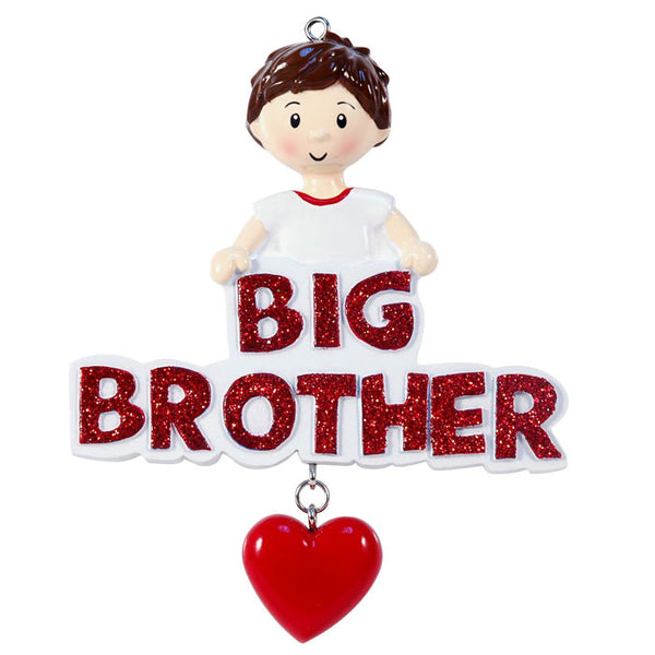 OR1205 - Big Brother Personalized Christmas Ornament