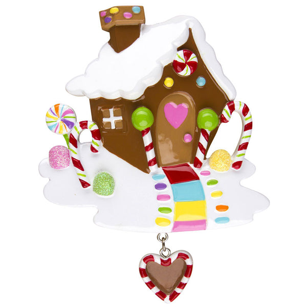 OR1218 - Gingerbread House Personalized Christmas Ornament