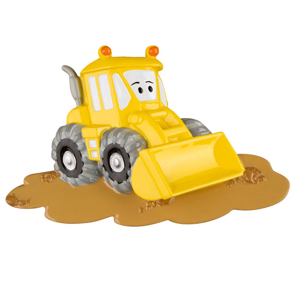 OR1230 - Bulldozer Personalized Christmas Ornament