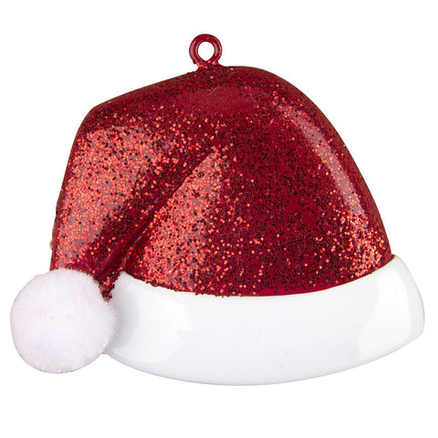 OR1233 - Santa Hat Personalized Christmas Ornament
