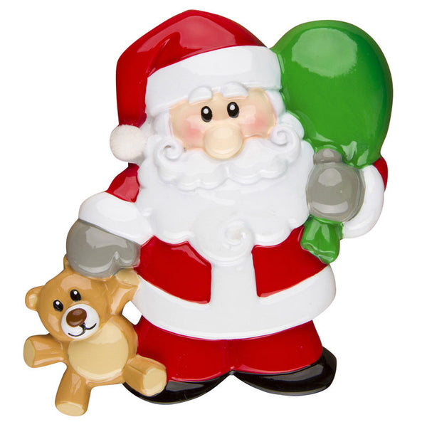 OR1235 - Santa's Toy Bag Personalized Christmas Ornament