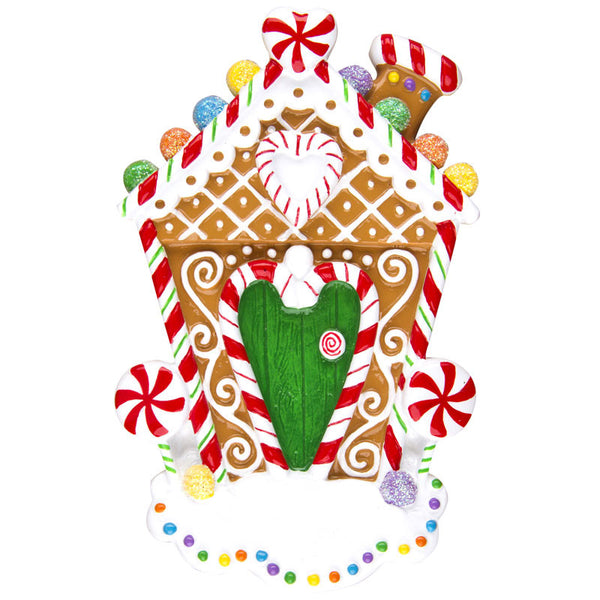 OR1248 - Gingerbread House Personalized Christmas Ornament