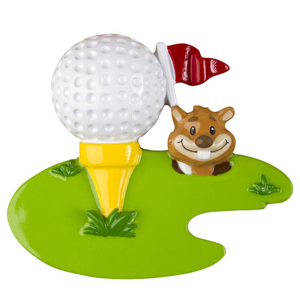 OR1290 - Golf Personalized Christmas Ornament