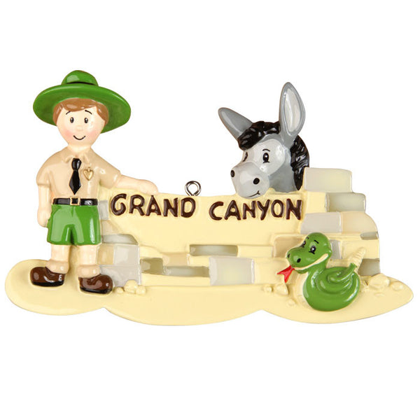 OR1297 - Grand Canyon Personalized Christmas Ornament