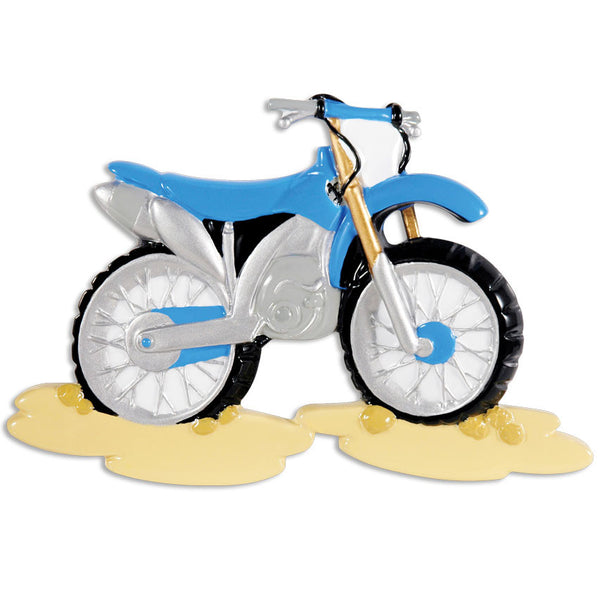 OR1409 - Motorcross Personalized Christmas Ornament
