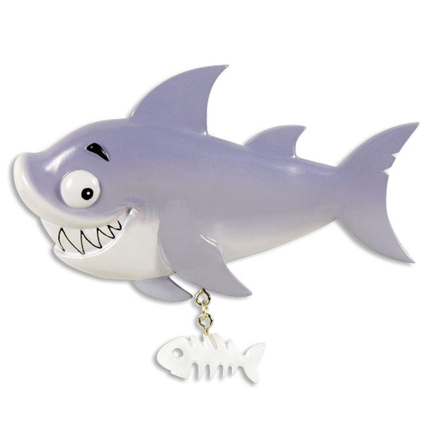 OR1416-A - Sea Life (Shark/Orca/) Personalized Christmas Ornament