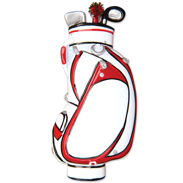 OR1464 - Golf Bag Personalized Christmas Ornament