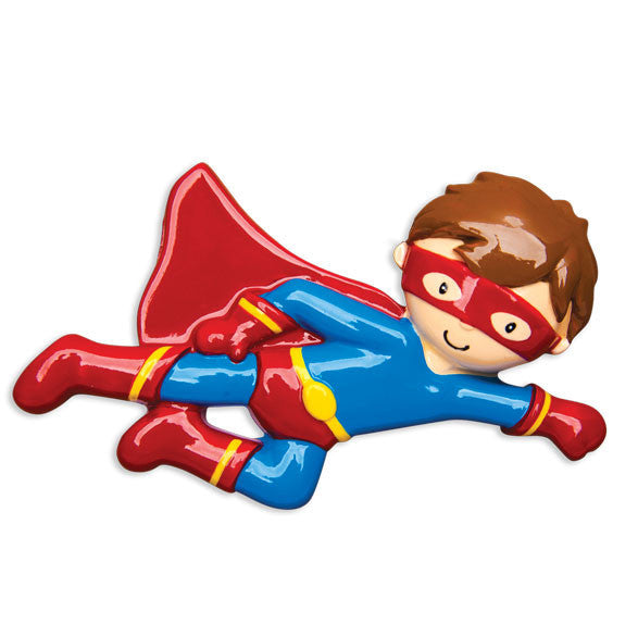 OR1466 - Super Hero Personalized Christmas Ornament