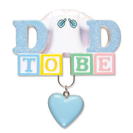 OR1492 - Dad To Be Personalized Christmas Ornament