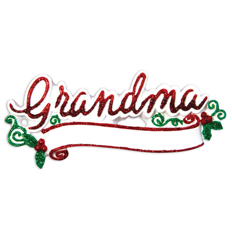 OR1512 - New Grandma Christmas Ornament