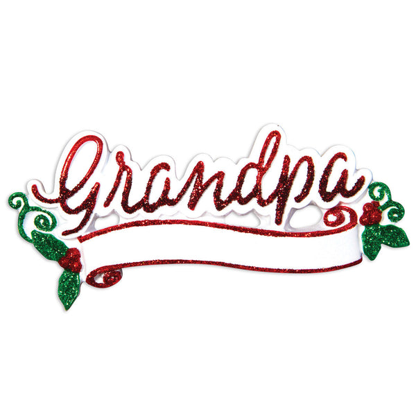 OR1513 - New Grandpa Christmas Ornament