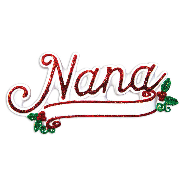 OR1514 - New Nana Christmas Ornament