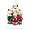 OR1521-6 - Tangled In Lights (family of 6) Christmas Ornament