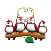 OR1522-4 - Birds On Branch (family of 4) Christmas Ornament
