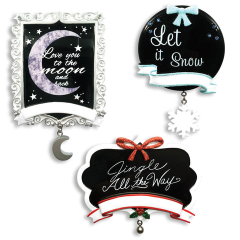 OR1530-A CHALKBOARD ASSORTMENT