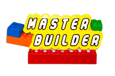 OR1579 - Master Builder Personalized Christmas Ornament