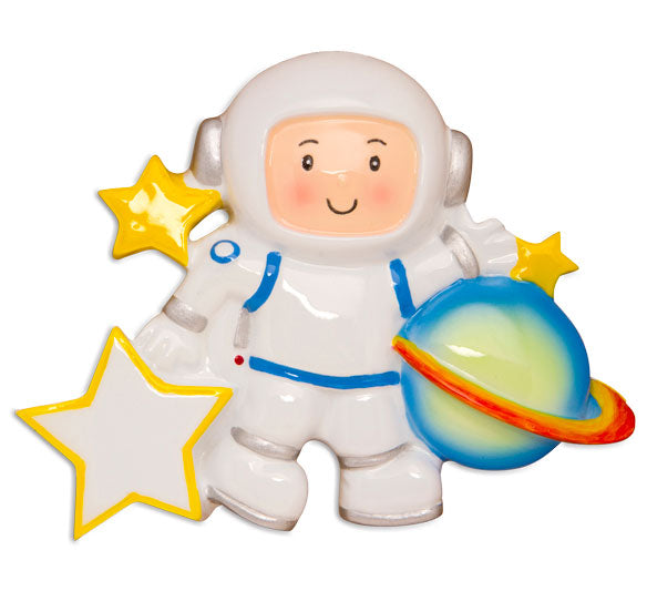 OR1603 - Astronaut Personalized Christmas Ornament