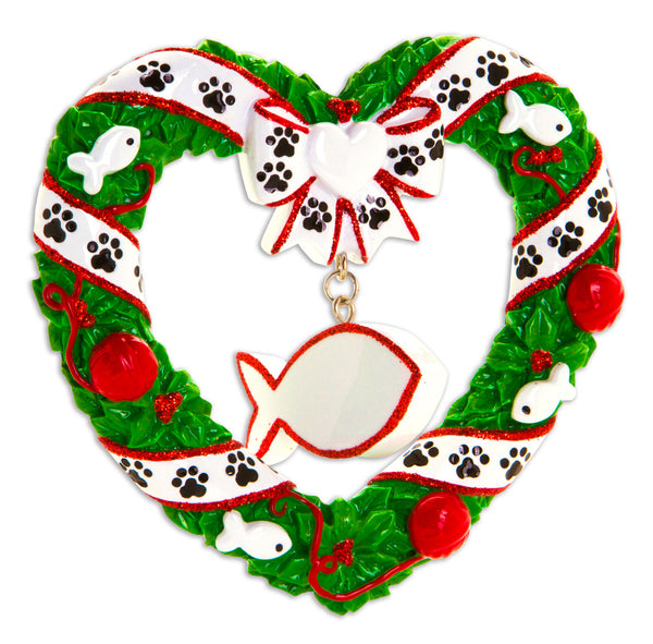 OR1613 - Kitty's First Christmas Personalized Christmas Ornament