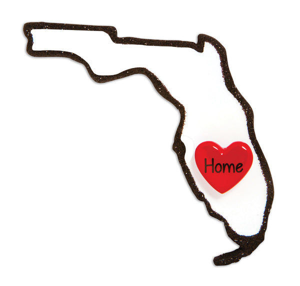 OR1615-FL - Florida Personalized Christmas Ornament
