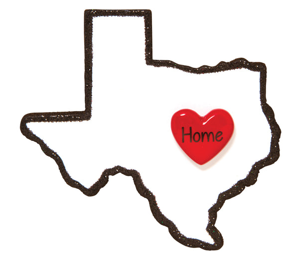 OR1615-TX - Texas Personalized Christmas Ornament