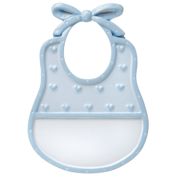 OR1651-B - Bib (Blue) Personalized Christmas Ornament