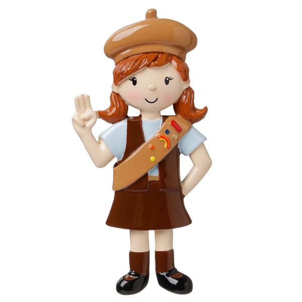 OR1654-BR - CHILD- GIRLS CLUB- BROWN UNIFORM